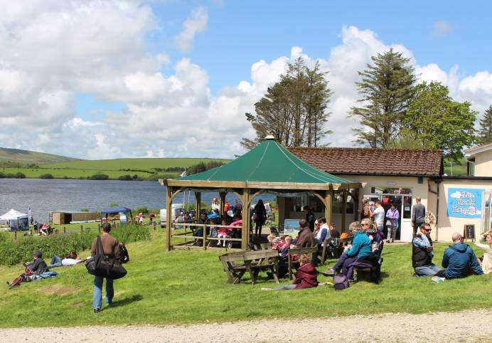 The Rock Hopper Café at Siblyback Lake